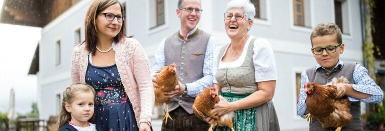 Familie Leberer - Salzburger Land Ei